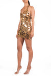 Gold Valentina Dress