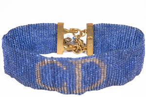 1970's Christian Dior Glass Beaded choker