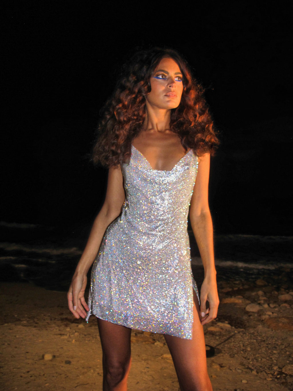 Ashley Williams Flower Cobweb Earrings - Annie's Ibiza