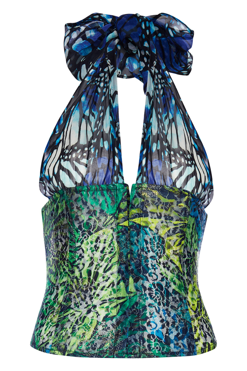 Butterfly Bustier Top - Annie's Ibiza