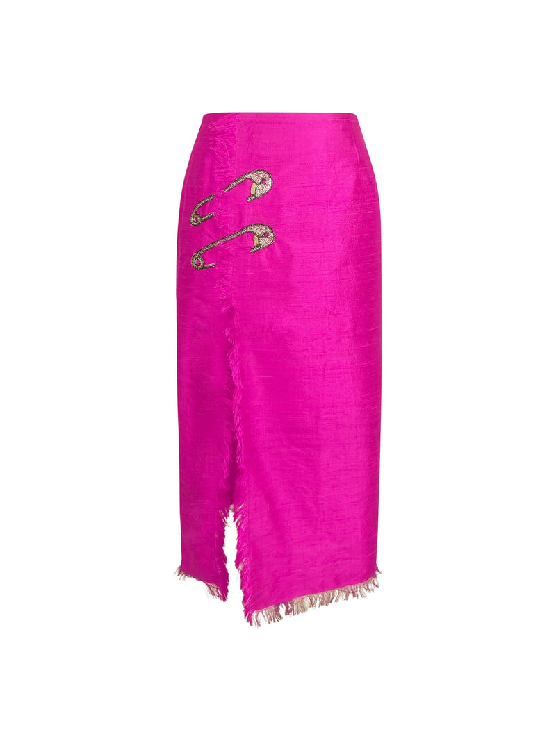 Lu-Li Embroidered Skirt