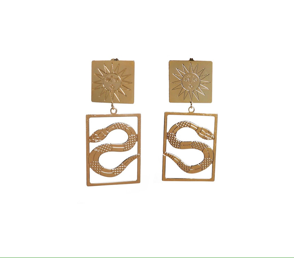 A Spine Of God Earrings - Annie's Ibiza