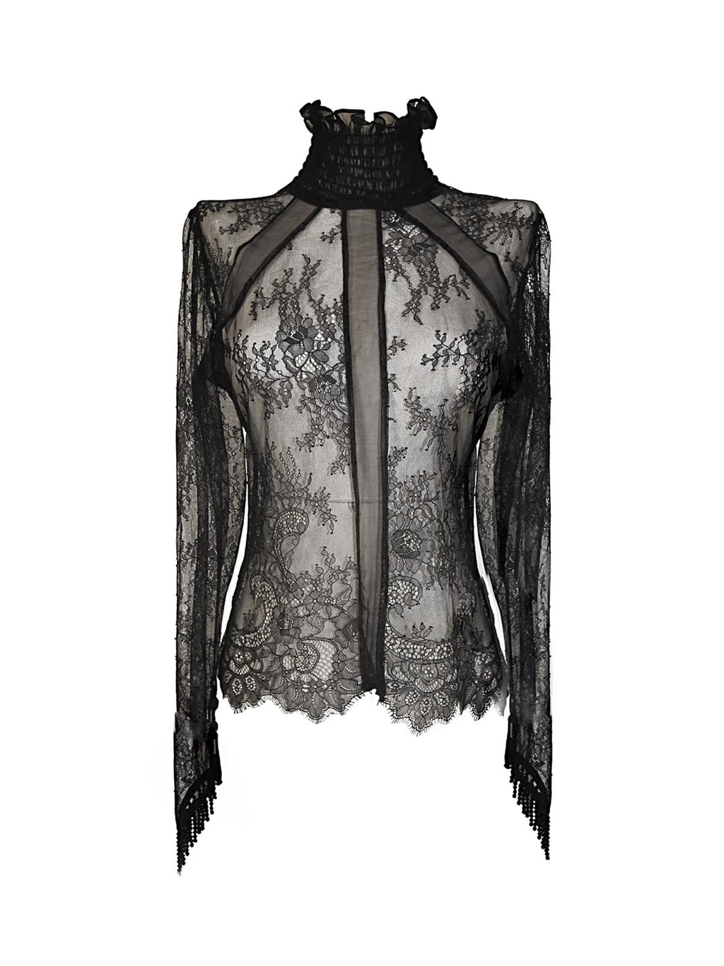 Black Lace Aleera Top - Annie's Ibiza