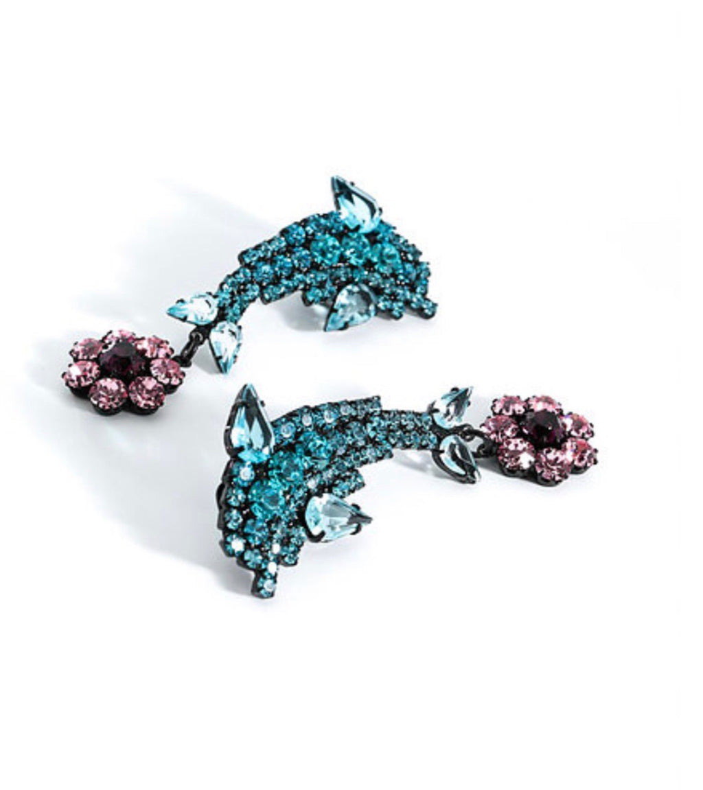 Ashley Williams Dolphin Earings