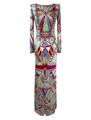 Emilio Pucci Geometric Vintage Dress