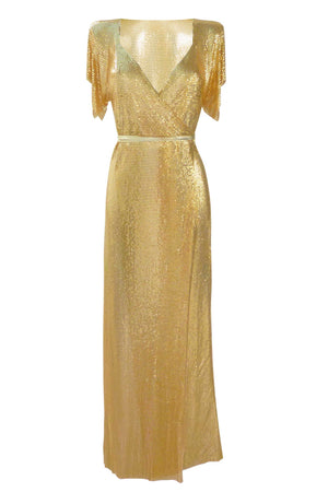 Gold union dress