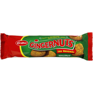 Griffin's Gingernuts Biscuits
