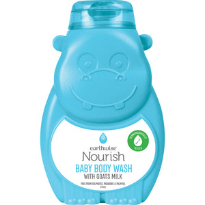Earthwise Goats Milk Baby Body Wash
