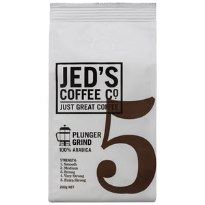 Jed's Plunger Coffee