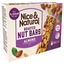 Load image into Gallery viewer, Nice & Natural Nut Bars