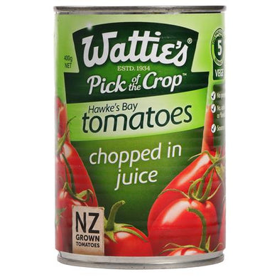Wattie's Chopped Tomatoes