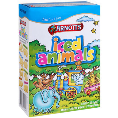 Arnott's Iced Animals