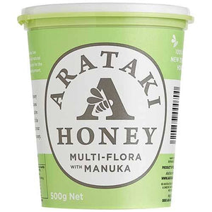 Arataki Honey Multi Flora with Manuka