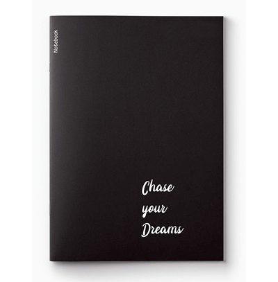 """Chase Your Dreams"" Notebook"