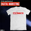 Digital Marketer – Startup Superhero T-shirt for Marketing Team