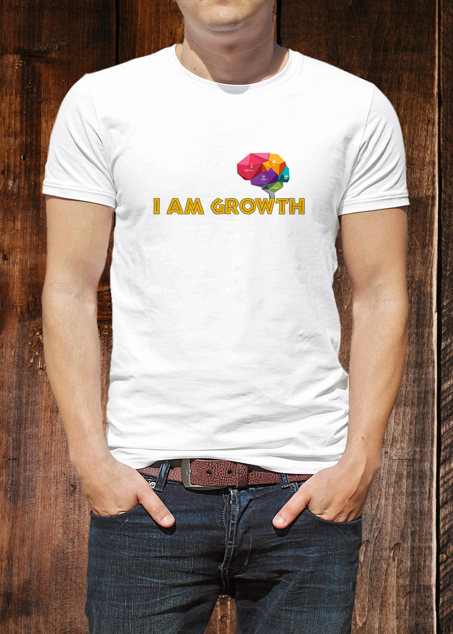 I Am Growth – Indian Startup Superhero T-shirt
