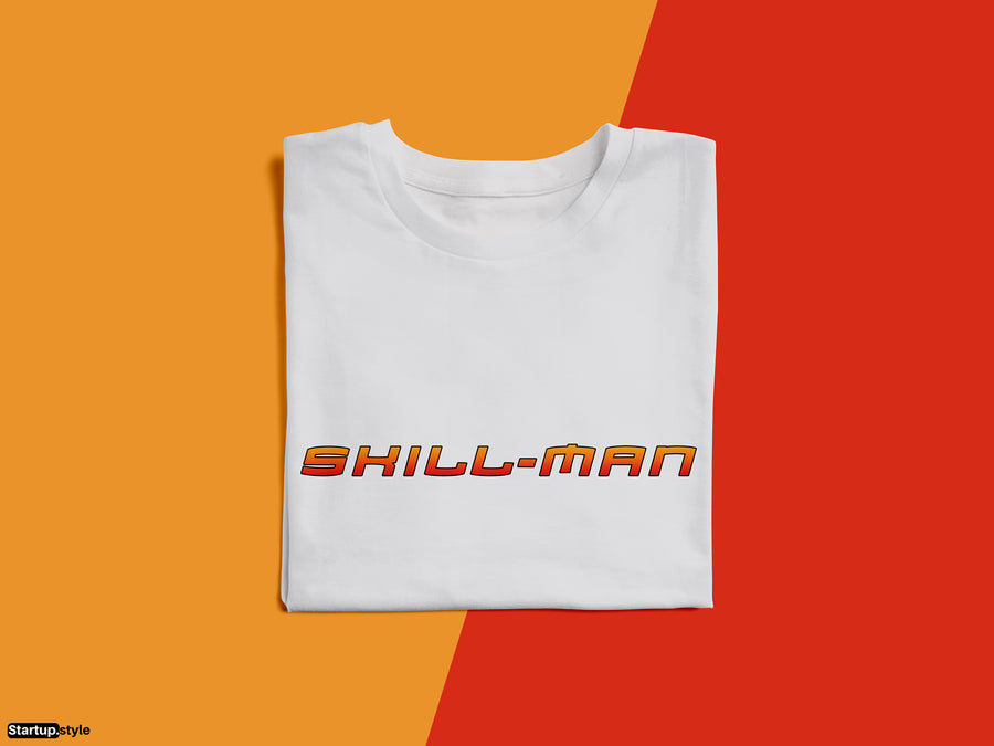 Skill-Man – Indian Startup Superhero T-shirt