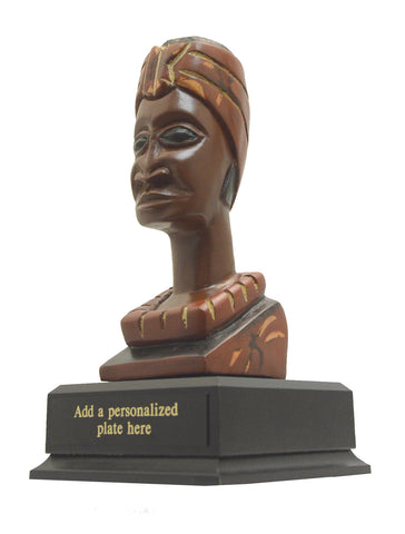 African-American Heritage Trophies & Recognition Awards - Stately Woman