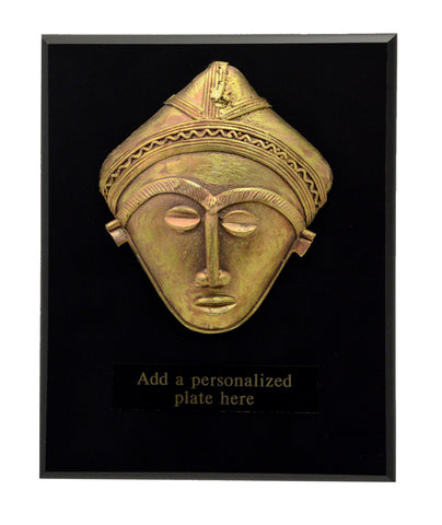 African-American Heritage Trophies & Recognition Awards  - Royal Brass Mask