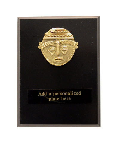 "African-American Heritage Trophies & Recognition Awards  - Mini Brass Plaque (6"" x 8"")"