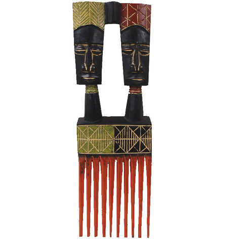 African Comb Two-Headed Unity