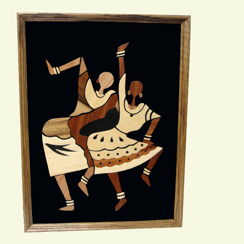"""Hip Moves"" wood collage"