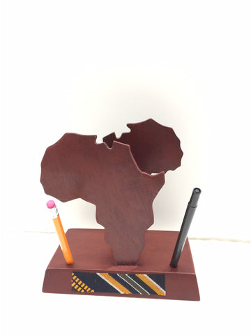 Africa Desk Set Organizer