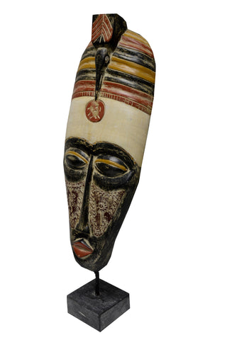 Large Tribal Standing Mask
