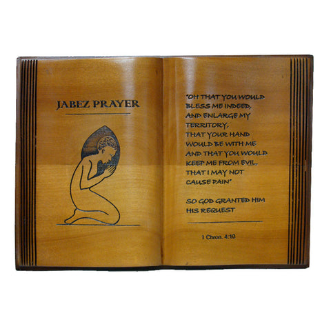 Bible Plaque - Jabez Prayer