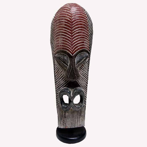 African Art King Tutu Royal Mask