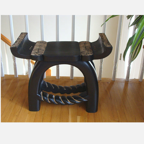 Ashanti King Tutu Royal Stool