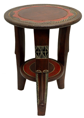 African Round Table - Akuaba Leg