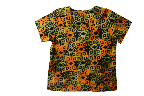 Batik Women's Top - Medium