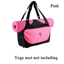 Load image into Gallery viewer, Multi-function Yoga backpack Gym bag