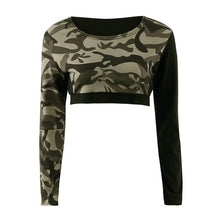 Load image into Gallery viewer, 2 Piece Camouflage Yoga Sportswear