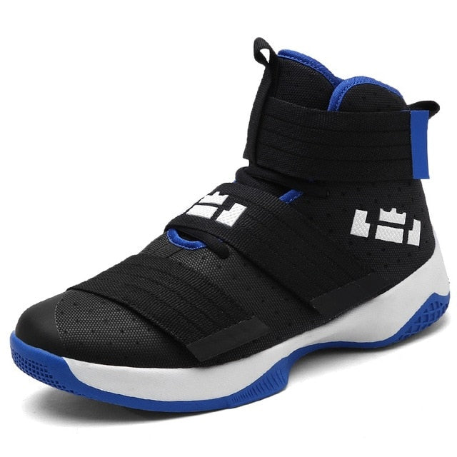 Black n Blue Sneakers