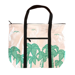 Plastic Free Hawai'i Aloha Collection Zippered Tote Bag