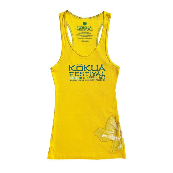 Ladies Kōkua Festival 2010 Tank Top