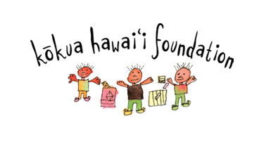 Kokua Hawaii Foundation logo