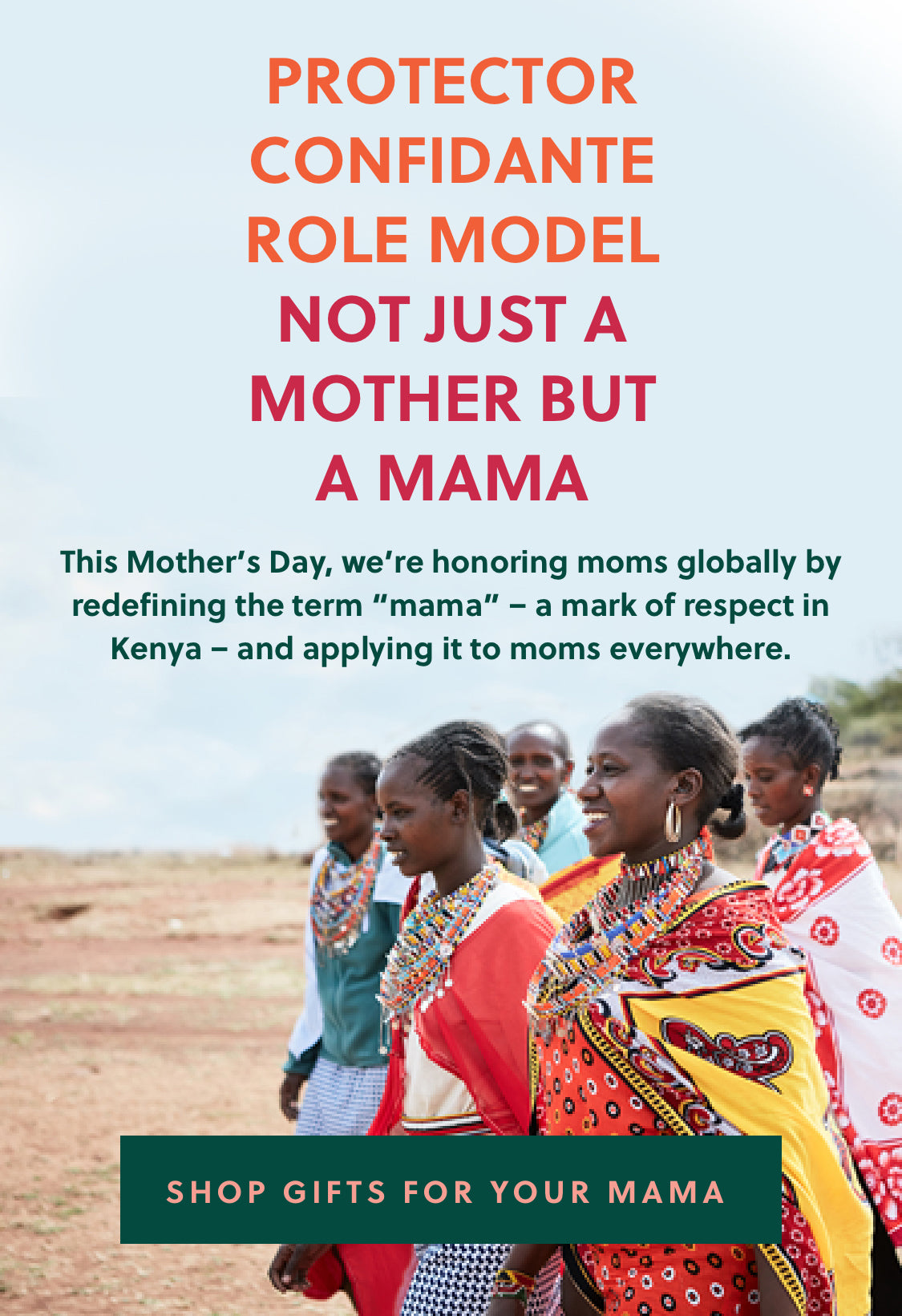 Not just a mother, but a mama: