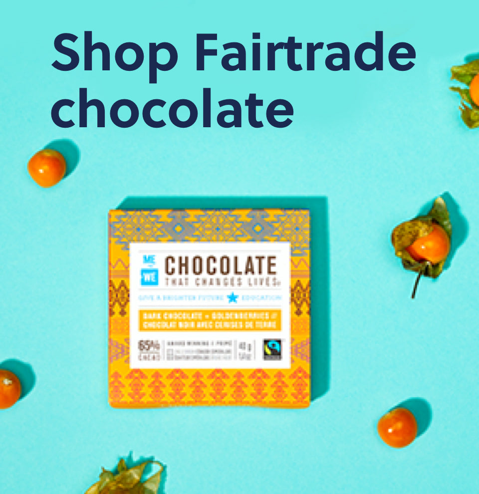 Shop Fairtrade chocolate
