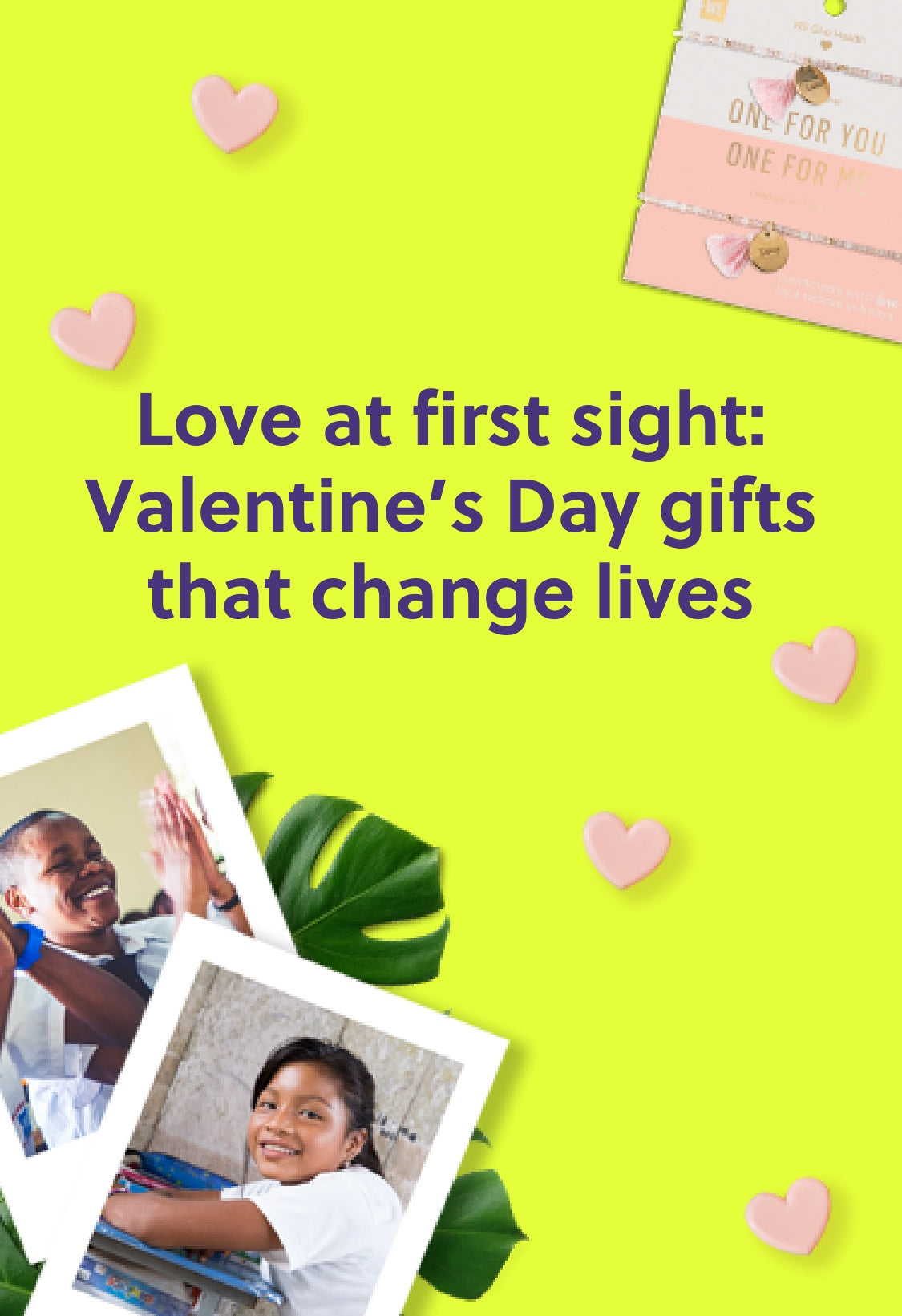 Love at first sight: Valentine's Day gifts that chnge lives