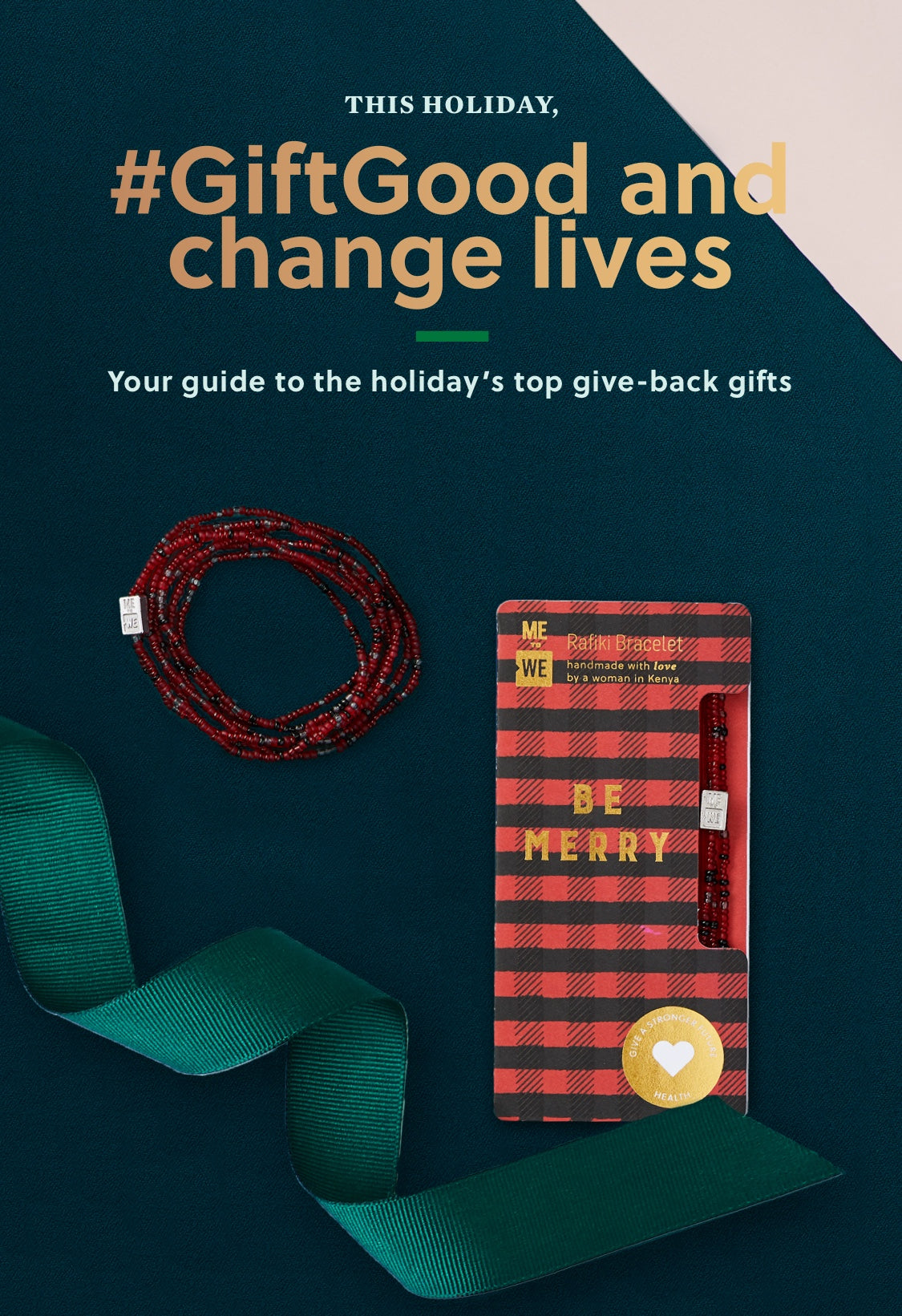 This holiday GiftGood and change lives. | Your guide to the holiday's top give-back gifts.