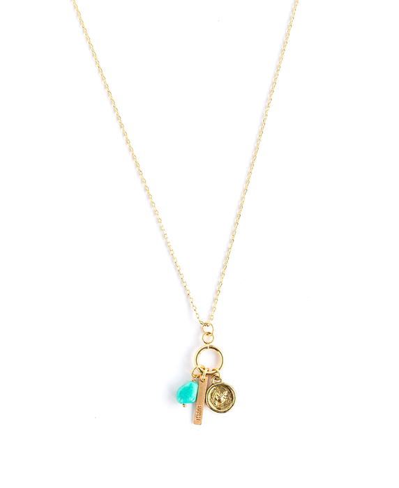 Keepsake Necklace – Thrive – Amazonite