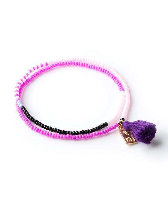 Color-Block Two-Wrap Rafiki Bracelet – Opportunity