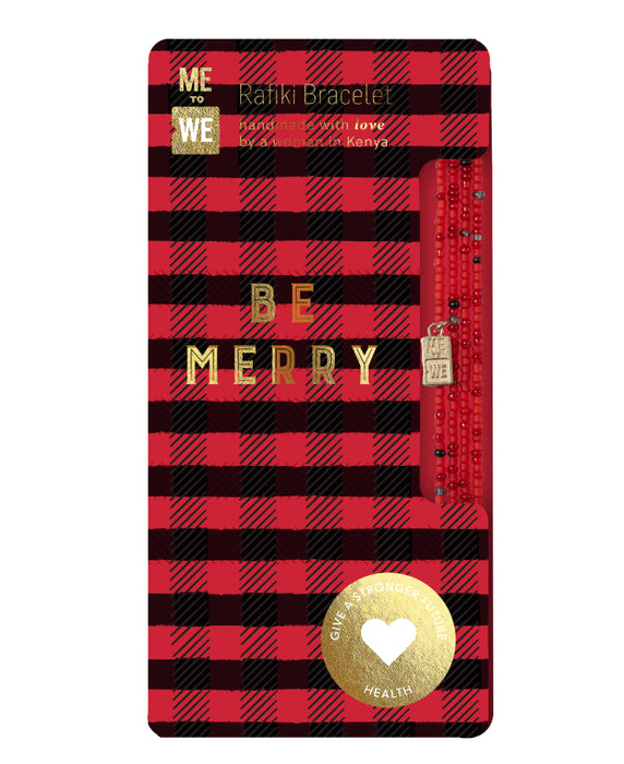 Holiday Rafiki Bracelet – Be Merry