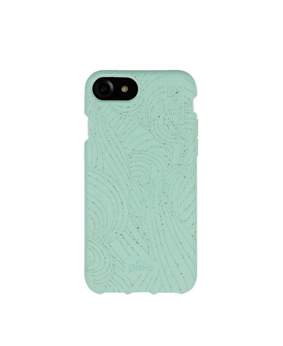 ME to WE x Pela Ripple Effect iPhone Case - Ocean Turquoise