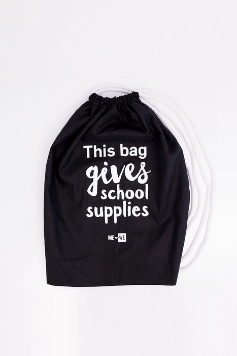 WE Day Drawstring Bag