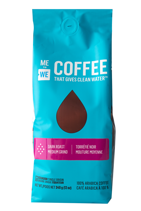 ME to WE Coffee - Dark Roast Medium Grind