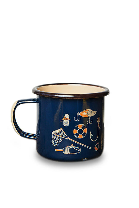 United by Blue - Hooked Enamel Steel Mug - Navy